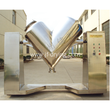 V Type Quick Vacuum Mixer Machine