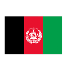 Custom Afghanistan National Day Hand Flag for Promotion