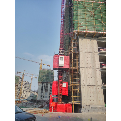 1t High Speed VVVF Frequency Drive Outdoor Elevator