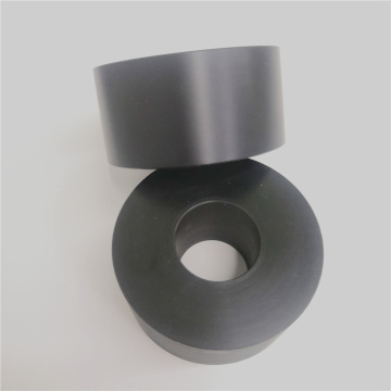 Black POM Acetal Roller Hollow Bar