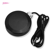 New Design Tattoo Foot Switch Pedal Round for Power Supply Black Tattoo Machine Accessory Round Foot Tattoos Tools