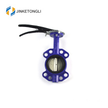 JKTLWD001 rubber lined stainless steel 2 inch butterfly valve