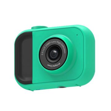 Child Camera HD Digital Camera 2 Inch 4x Zoom 2400W Camera Toys Children Birthday Gift Child Toys Camera Rechargeable