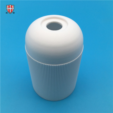 environmental alumina ceramic line bulb holder tube sleeve
