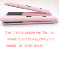 large capacity rechargeable hair straightener