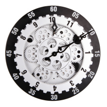 12 Inches Round Gear Wall Clock