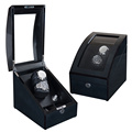Black 9 Rotors Watch Winder With LED Lights