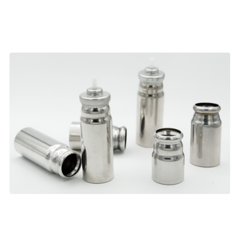 Aluminum canisters Metal packaging