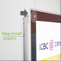 Interior Magnetic LED Light Box Displays