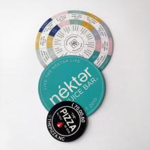 Custom Advertising magnet circle sticker