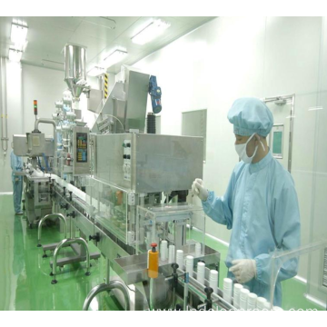 Clean room of Uruguay Pharmaceutical Factory