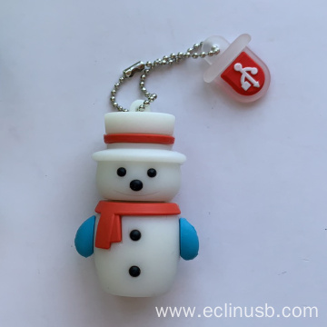 Cute Snowman Christmas USB Flash Drive