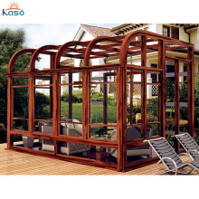 Cheap Kits Plastic Aluminum Glass Extension Sunroom