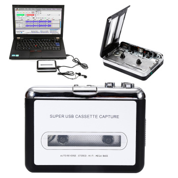 Rechargable USB Portable Cassette Tape to MP3 CD Converter Capture Audio Music Player Cassette Recorders & Players coverters
