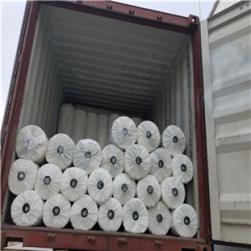 PET non woven geotextile with hot setting