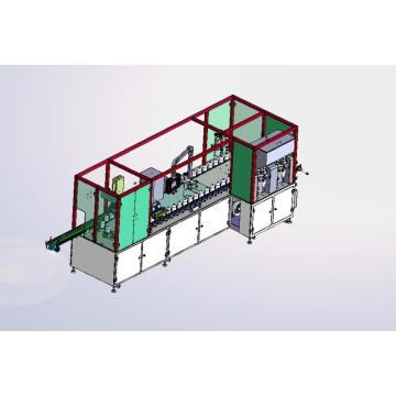 Rotary water cream automatic filling and capping machine