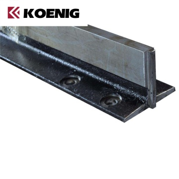 Guide rail for lift and elevator guide rails