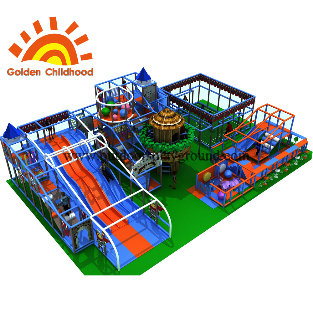 Forest Wooden Play House Equipment For Children