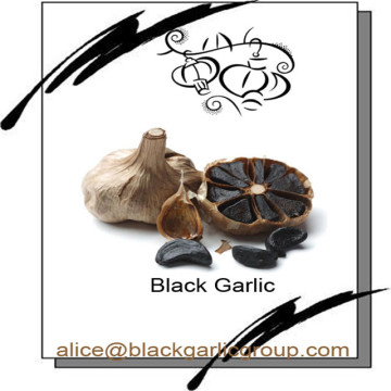 Taste sweet and sour of black garlic