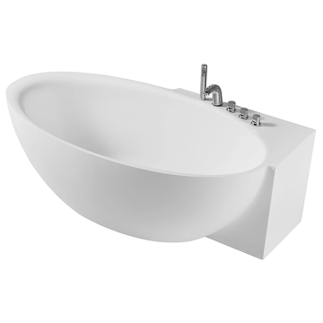Independent Acrylic Bathtub With Tub Faucet