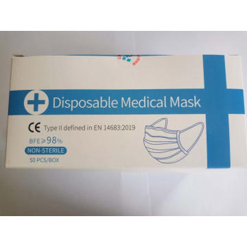 Three layer disposable medical mask