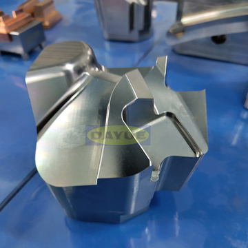 Custom machining Injection mold parts slider and insert