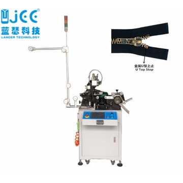 Automatic Metal Zipper U Top Stop Making Machine