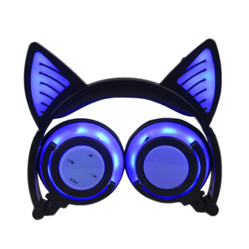 Kids Lovely Private Model Wireless Cat Ear Headphone