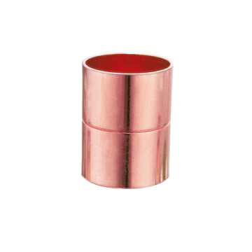 Red Copper straight coupling