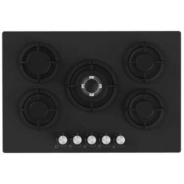 Electriq 90cm Glass Hobs Built in Stove