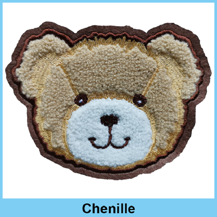 embroidery patch bear