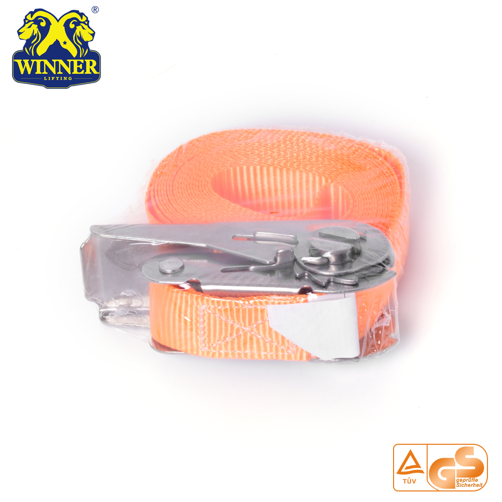 Heavy Duty Polyester Webbing Lifting Sling And Cargo Lashing Belt