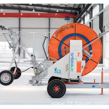 Widely Coverage Area Movable Hose Reel irrigation