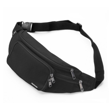 Customized Logo Reflective Running Belt Sport Waist Bag  With Multiple Pockets