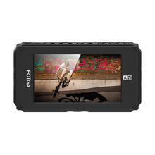 """FOTGA A50T 5"""" FHD Video On-Camera Touch Screen Field Monitor for sony with Hot/Cold Shoe Mount Adapter 3/8 Inch-M6 Adapter"""