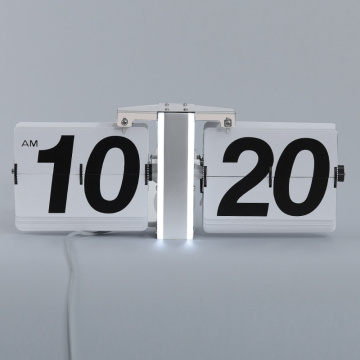 LED Light Flip Clock für die Wanddekoration