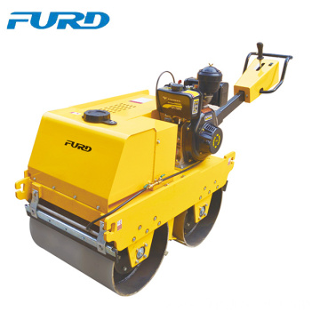 600kg double drum hand soil compactor vibratory roller for sale (FYLJ-S600C)