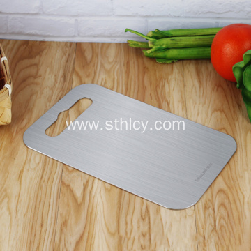 Double Stainless Steel Cutting Board Rolling Panel