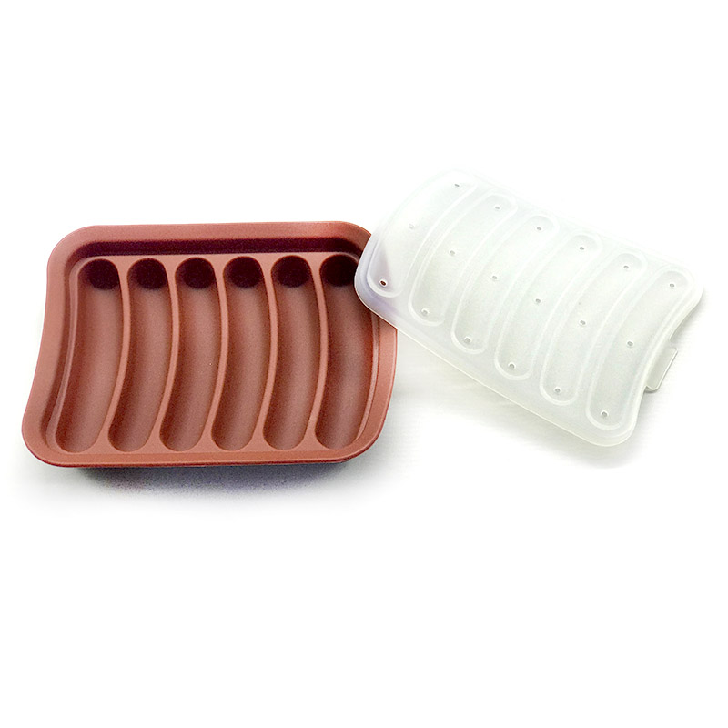 Silicone Hot Dog Maker Mould