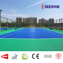 Enlio ITF Approved outdoor Tennis court interlocking tiles
