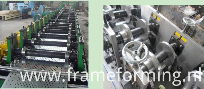 Lintel channel forming line machine