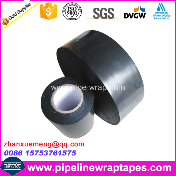 Polyethylene inner wrap tape for pipe elbow