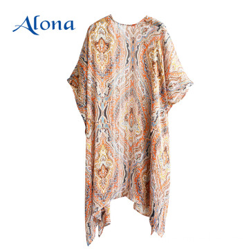Kimono beach pareo beachwear swimsuit cover up