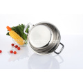 Stainless Steel Steamer Pot with Glass Lid