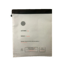 Pulling-type promotional non woven laundry bag