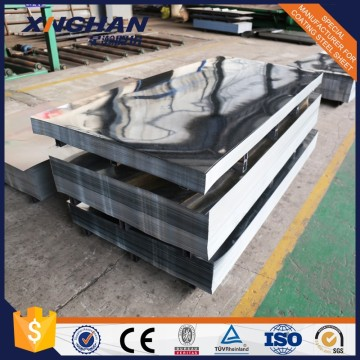 Zinc Galvanized Plain Steel Sheet