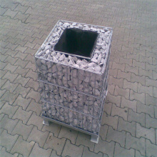Welded gabion retaining wall wires mesh