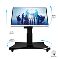 70 Inches 4K Touchscreen Board With Automatic Stand
