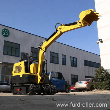 Stable Performance Ride-on Mini Crawler Excavator For Construction FWJ-900-10