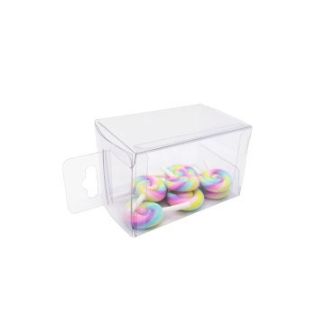 OEM design small clear acetate plastic box